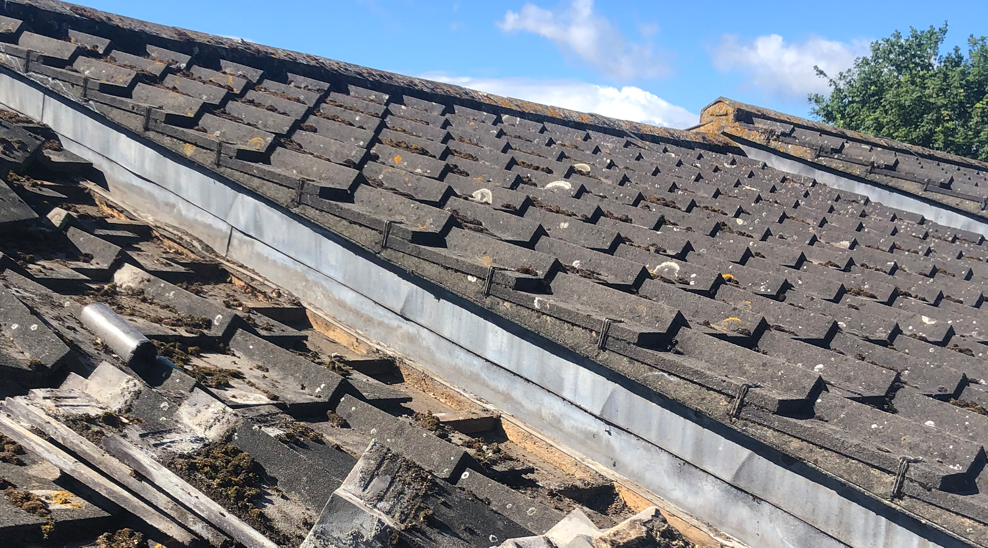 Low Pitch Roof Tiles kent roofing rochester medway kent
